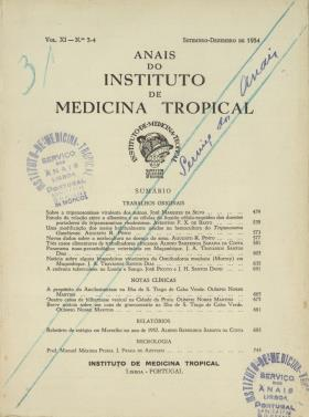 Anais do Instituto de Medicina Tropical.V11.N3-4